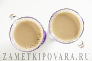 Кофе со сливками и кленовым сиропом