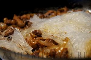 Фунчоза со свининой по-китайски