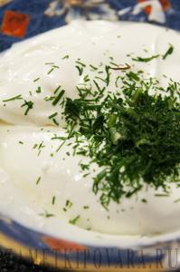 Закуска с сырным кремом и красной икрой
