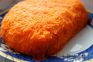 Салат Апельсиновая долька