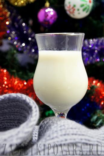Горячий молочный напиток - слем