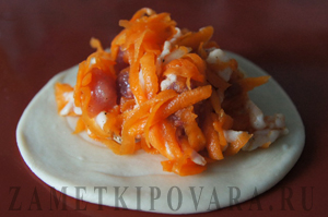 Узбекская самса с мясом и тыквой