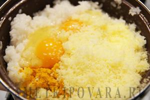 Тесто для аранчини - итальянских рисовых шариков