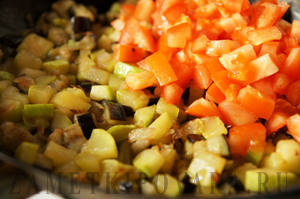 Овощная лазанья