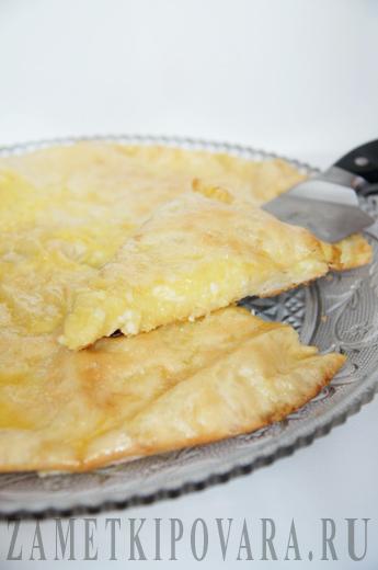 Осетинские пироги с картошкой