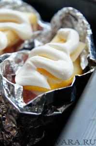 Кета с сыром,запеченная в духовке