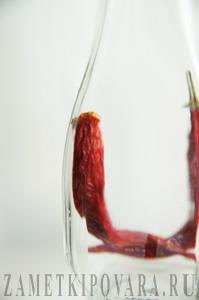 Острое масло с перцем чили