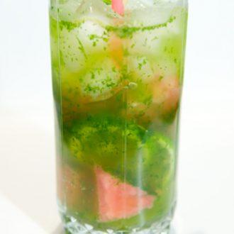 Безалкогольный арбузный мохито