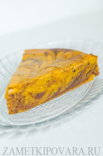 Морковный кекс с какао