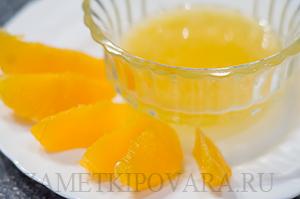Гречневая каша с финиками и апельсинами