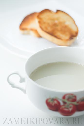 Французский чесночный суп - Aigo Boulido