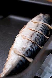 Скумбрия гриль с имбирем в духовке