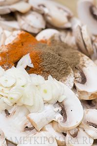 Закуска из грибов по-корейски