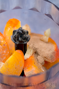 Смузи из хурмы и цитрусовых