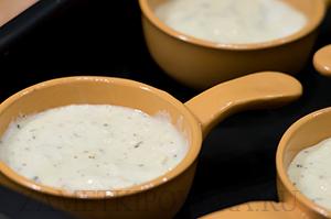 Сырное суфле с прованскими травами