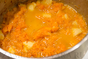 Тыквенный суп-пюре с карри