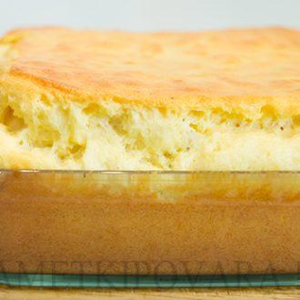 Сырное суфле по-французски