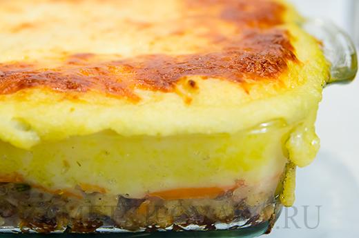 Английский пастуший пирог