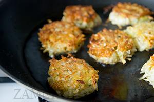 Драники из сельдерея и картофеля