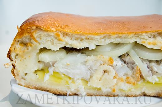 Пирог с рыбой по-сибирски