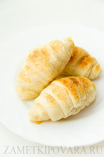 Круассаны с сыром