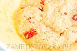 Мягкое овсяное печенье с вишней и медом