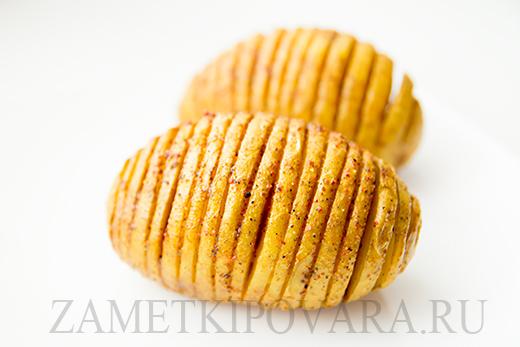 Золотистая картошка в духовке