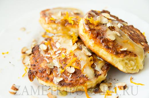 простой рецепт сырников из творога с медом