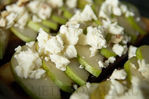 Тосты с грушей и сыром