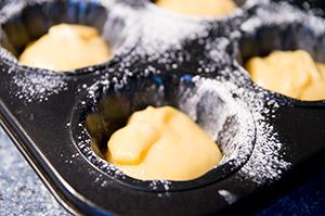 Печенье Мадлен с лимонной цедрой