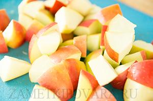 Рататуй с яблоками