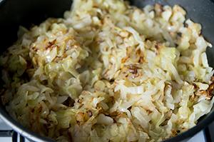 Картофельные блинчики с капустой