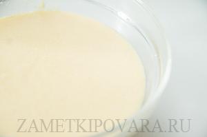 Порционный манник на молоке