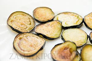 Салат из кус-куса с баклажанами