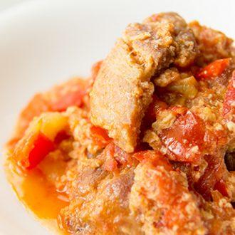 Лечо по-венгерски с мясом