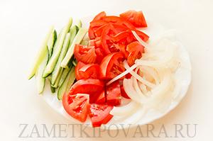 Вегетарианский гирос