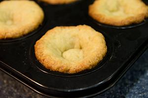 Ванильные тарталетки для пирожных