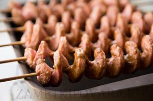 Сосиски в духовке в виде спирали
