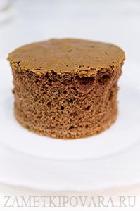 Бисквитное пирожное Трюфель