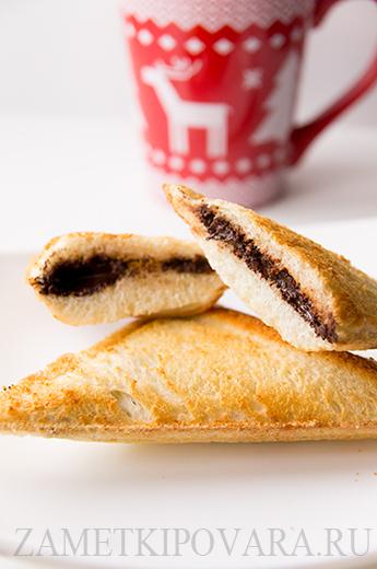 Сэндвичи с шоколадом