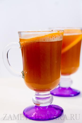 Согревающий ананасовый чай