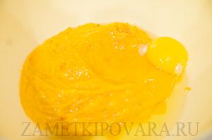 Тыквенные маффины с сыром
