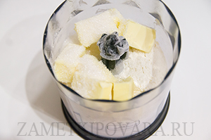Галета с яблоками и корицей