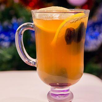 Чай из шиповника с медом и лимоном