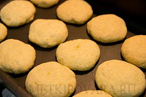 Апельсиновое печенье с корицей