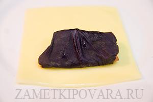 Сырная закуска с грейпфрутом и базиликом
