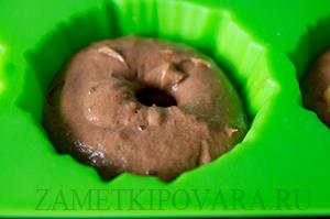 Шоколадно-ванильные кексы с клюквой