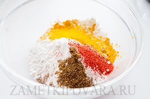 Овощные лепешки Бхаджи