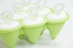 Ванильное сливочное мороженое