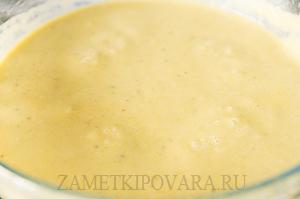 Суп-пюре из зеленого лука